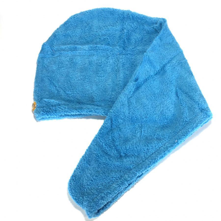 Махровое полотенце-тюрбан для сушки волос