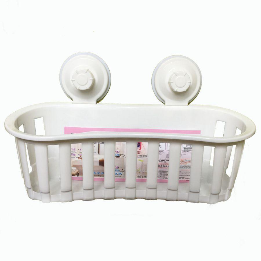 Полка для ванных принадлежностей на вакуумных присосках