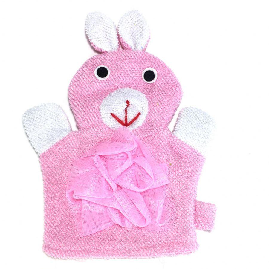 Детская мочалка-варежка в виде зверюшки Comfortable BathLife
