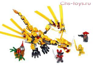 Конструктор LELE Ninja Золотой дракон 31021  (Аналог LEGO Ninjago 70503) 330 дет.