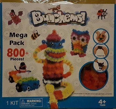Bunchems Конструктор липучка (Банчемс) Mega Pack 800+