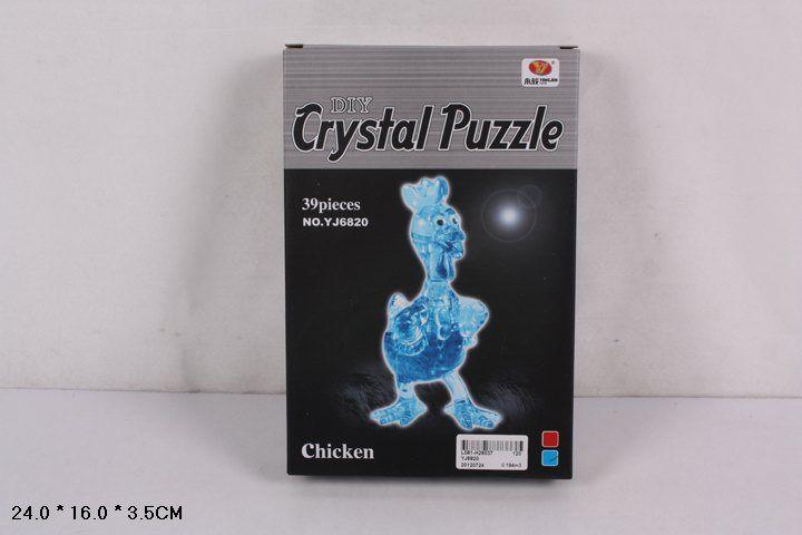YJ6821 Пазл 3D цыпленок