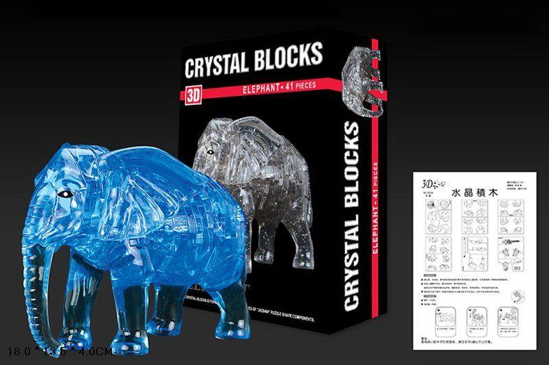 3D-пазл Jeruel Industrial Company Слон (9058), 41 дет.