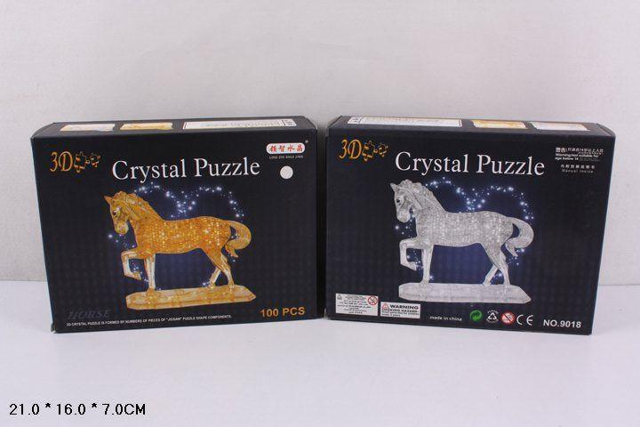 Пазл Shantou Gepai 3D Лошадь (9018), 100 дет.