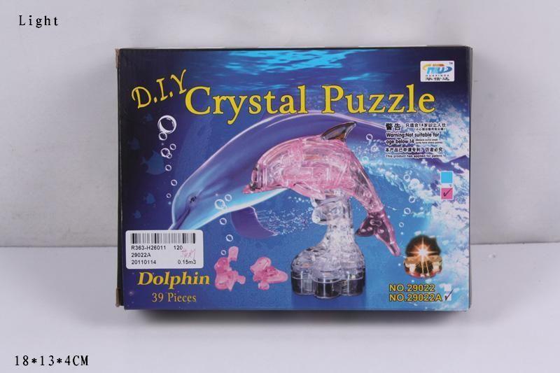 29022A Дельфин Crystal Puzzle