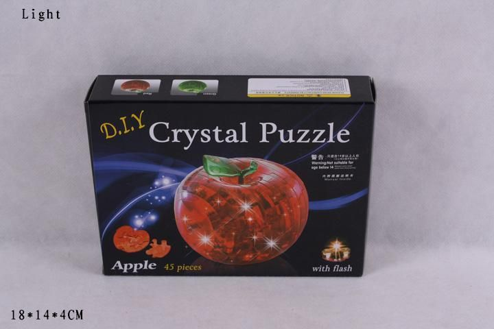 29016A Яблоко 3D Crystal Puzzles