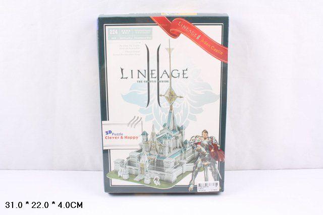 ZS017 Замок Lineage II 224 детали