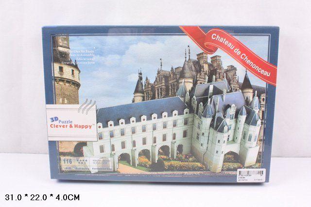 ZB084 Замок Шенонсо Франция 116 деталей