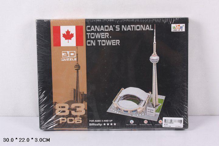 B130 Канадская телебашня 83 детали