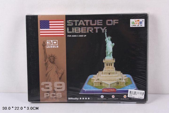 B103 Статуя свободы 39 деталей
