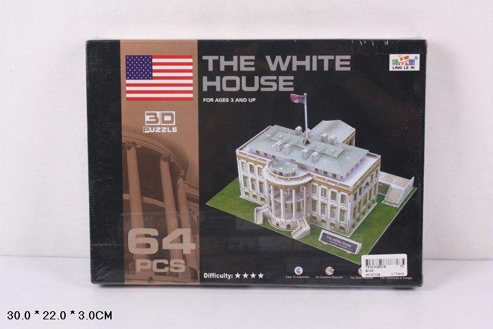 B102 Белый дом 64 детали