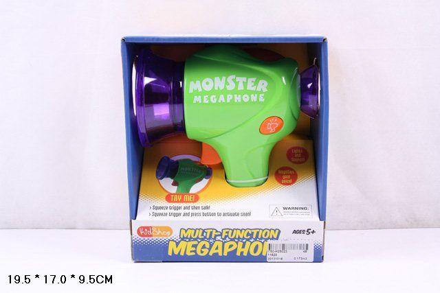 11620 Детский музыкальный мегафон изменяет голос