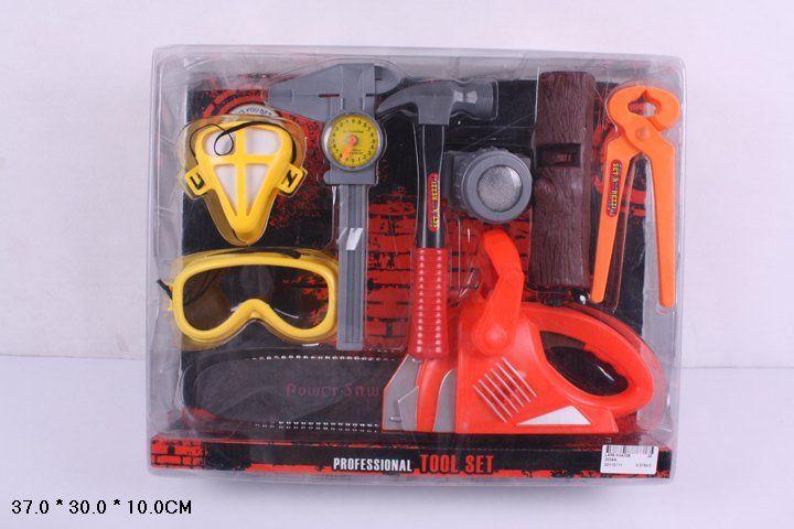 3034A Набор детских инструментов с бензопилой