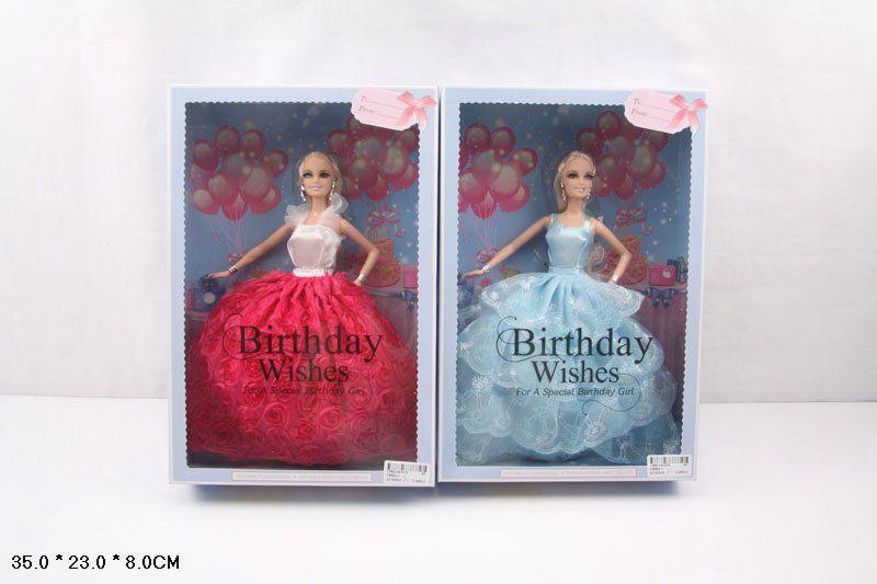HB892-1 Кукла коллекционная Birthday Wishes