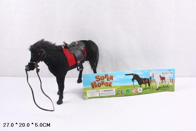 328-2 Лошадь флокированная