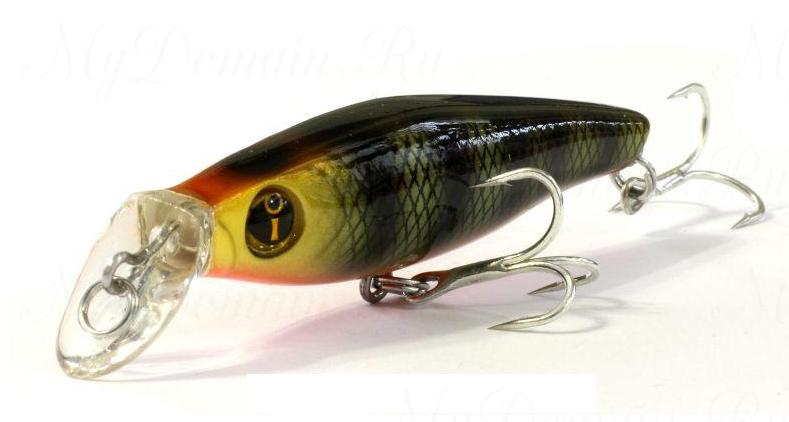 Воблер Izumi Eimann Roll 65SS, #26 Yellow Head Perch