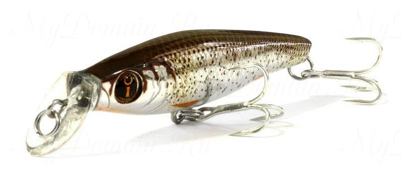 Воблер Izumi Eimann Roll 65SS, #28 Brown Gold Shinner