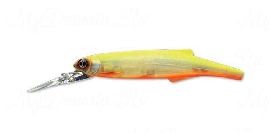 Воблер Izumi Long Lip Minnow 120F, #4 Orange Belly Chart