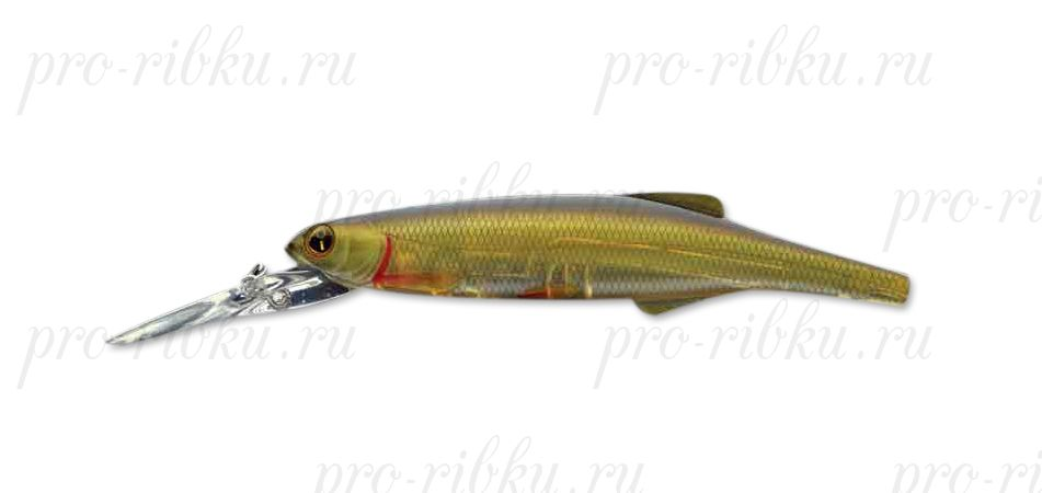 Воблер Izumi Long Lip Minnow 120F, #8 Natural Ghost