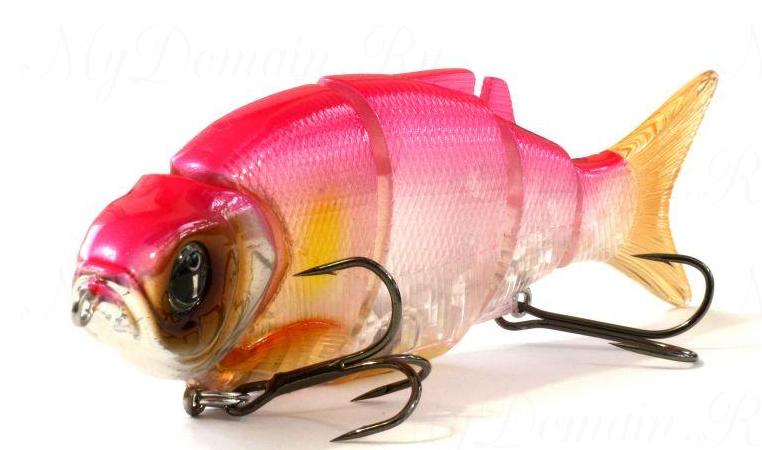 Свимбейт Izumi Shad Alive 105F, плавающий, #07 Pink Ayu