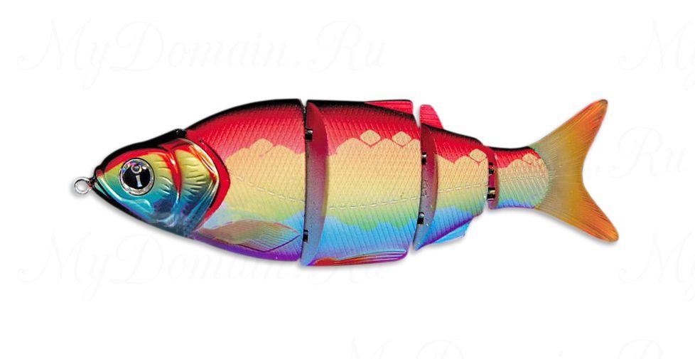 Свимбейт Izumi Shad Alive 105SS, медленнотонущий, #29 Rainbow Shad