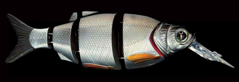Воблер IZUMI Shad Alive Diver With Lip 105 MD Suspending, #09 Silver Shad