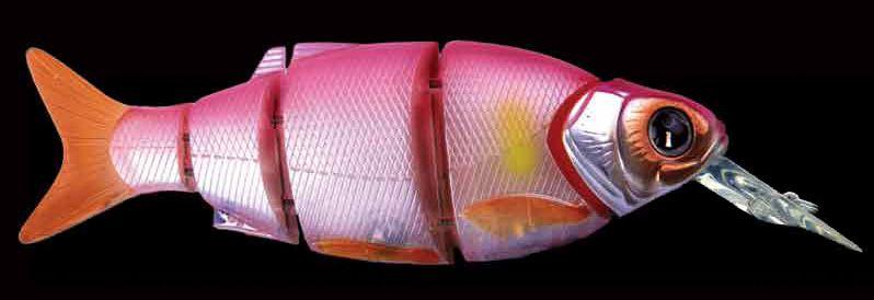 Воблер IZUMI Shad Alive Diver With Lip 145, #07 Pink Ayu