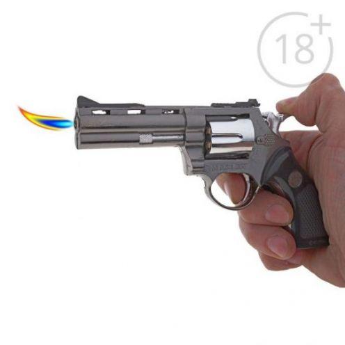 Зажигалка Револьвер в кобуре большой