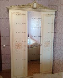 Шкаф 3-х дверный Грация СГ-01 МДФ (147х64х231) (Спальня)