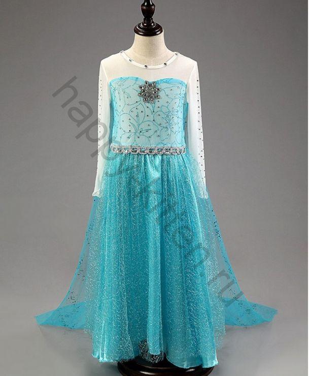 Платье  Эльзы  Холодное сердце рост 120 см
