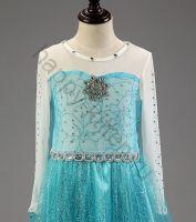 платье эльзы с длинным шлейфом