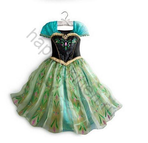 Платье Анны Холодное сердце  140