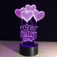 3D Лампа «Любовь»
