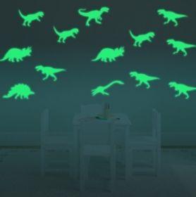 Светящиеся наклейки «Динозавры»