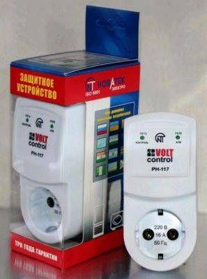 Новатек VoltControl защита быт.тех РН117 16A 1Ф нерегулир. защ. по напр.145-285В, индик., АПВ IP30