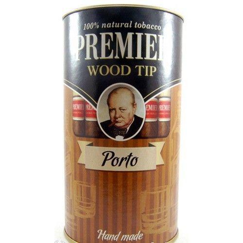 Сигариллы Premier Porto с мундштуком туба 25 шт.