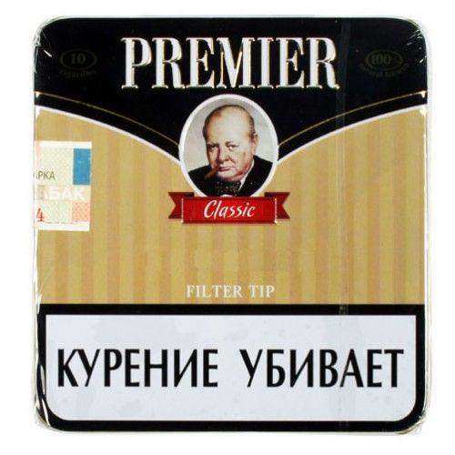 Сигариллы Premier Classic портсигар 10 шт