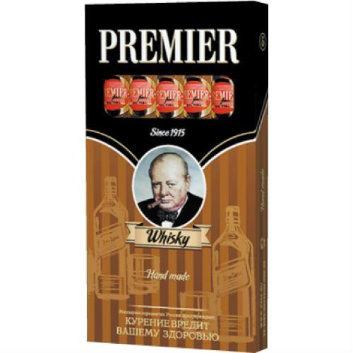 Сигариллы Premier Whisky 5 шт