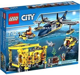 Lego City 60096Глубоководная исследовательская база #