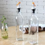 Стеклянные бутылки для масла и уксуса (2 шт.)