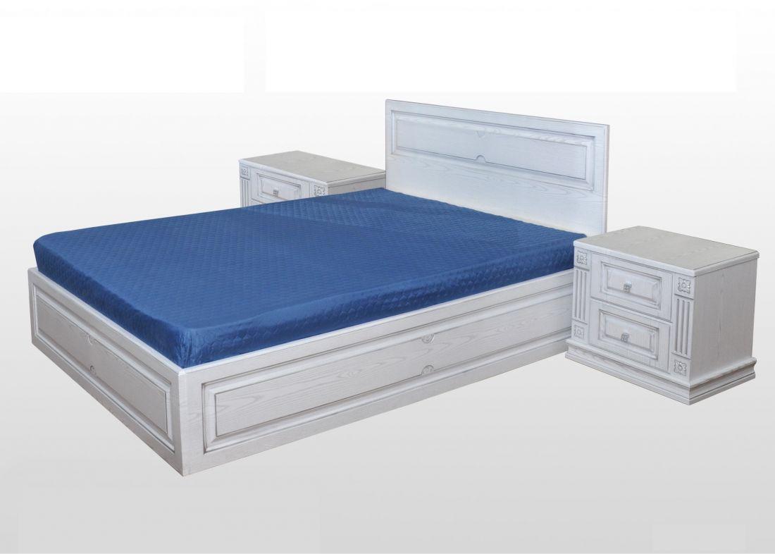 """Кровать с тумбами к спальне """"Патиния-1"""""""