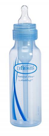"Dr.Brown's Natural Flow® Бутылочка с узким горлышком ""Options"" 250 мл., СИНЯЯ, полипропилен (арт.SB81405)"