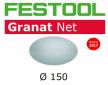 Тестовый набор 5 шт Шлифовальный материал на сетчатой основе FESTOOL Granat Net STF D150 P150 GR NET/50