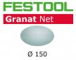 Шлифовальный материал на сетчатой основе FESTOOL Granat Net STF D150 P150 GR NET/50 комплект 50 шт 203306