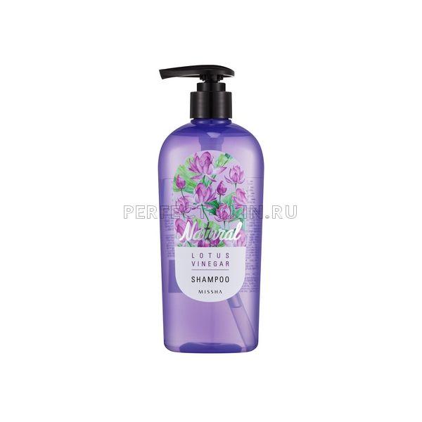 Missha Natural Lotus Vinegar Shampoo
