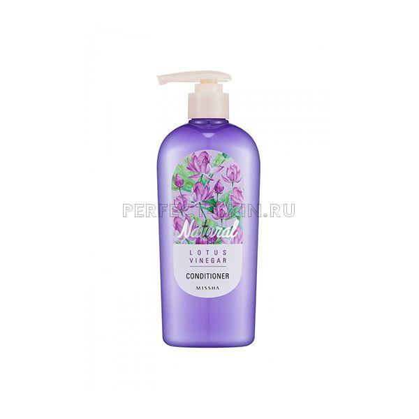 Missha Natural Lotus Vinegar Conditioner