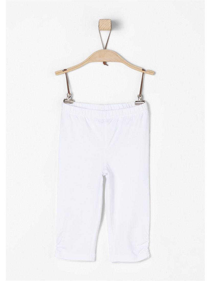 Белые бриджи для девочки