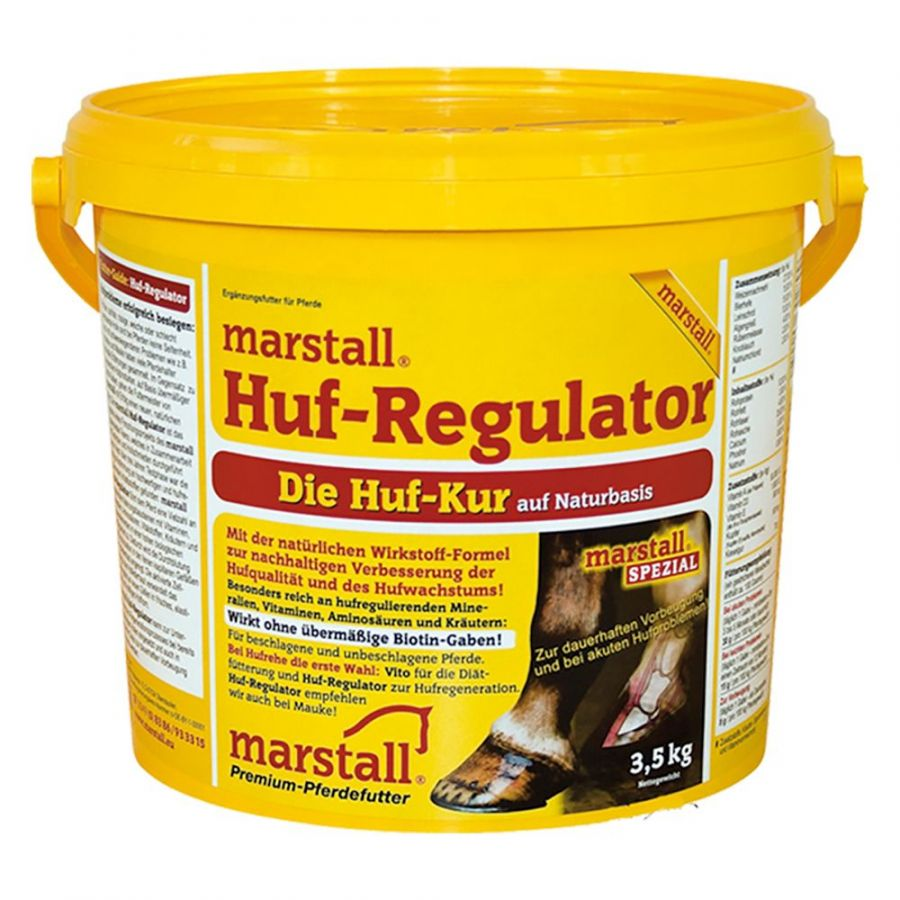 Huf-Regulator / Хуф-Регулятор, подкормка для копыт 3,5 и 9 кг. Marstall