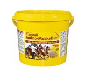 Amino-Muskel PLUS / Амино-Мазл Плас, подкормка с аминокислотами 3,5 и 9 кг. Marstall