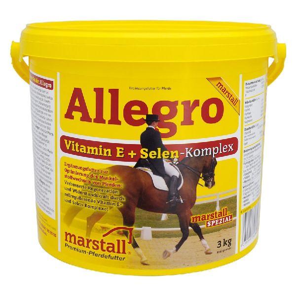 Allegro / Аллегро, подкормка с витамином Е и селеном 3 кг. Marstall